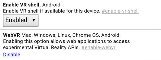 VR Shell cho phép người dùng sử dụng kính VR để lướt web trên cả những trang không hỗ trợ thực tế ảo