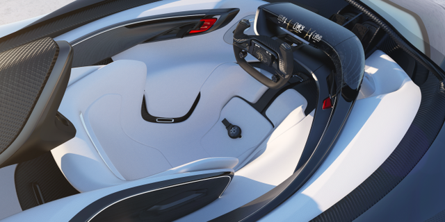 Thiết kế ấn tượng của xe.