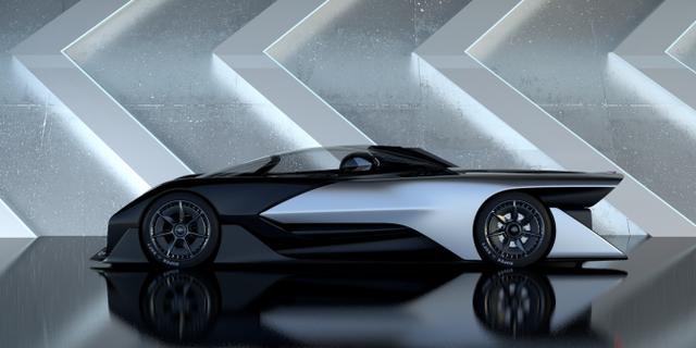 Chiếc siêu xe điện FFZERO1.