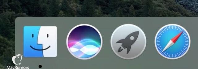 Hình ảnh rò rỉ cho thấy icon mới của Siri trên OS X 10.12 (Ảnh: MacRumors)