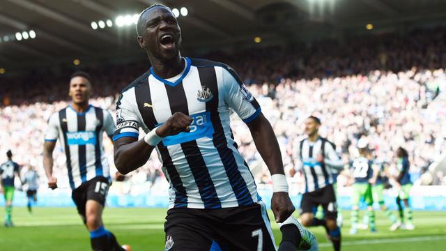 Sissoko thi đấu khá hay trong màu áo Newcastle United