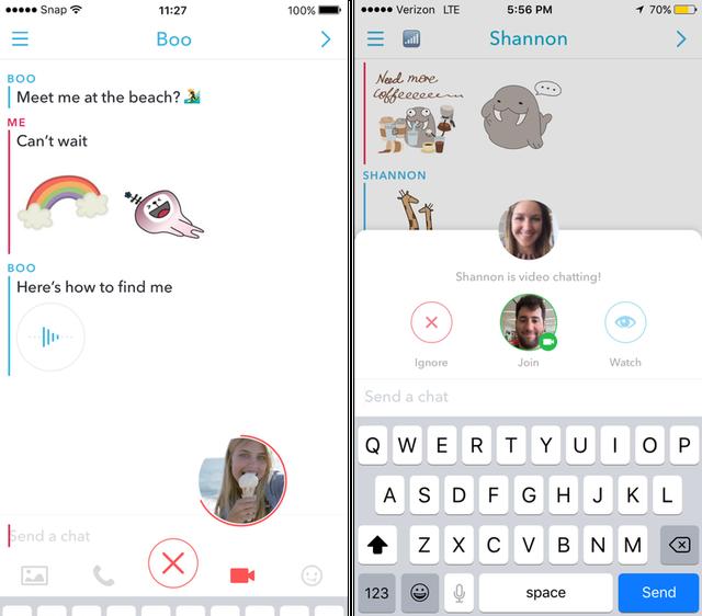 Những tính năng mới đẹp mắt trên Snapchat