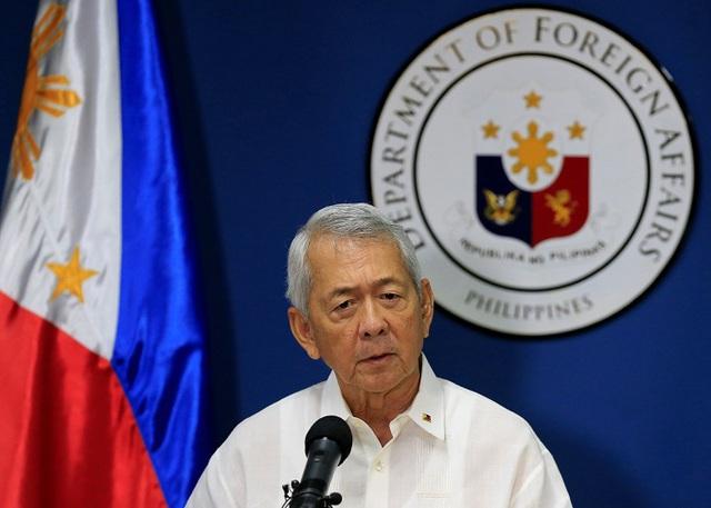 Ngoại trưởng Philippines Perfecto Yasay (Ảnh: Reuter)