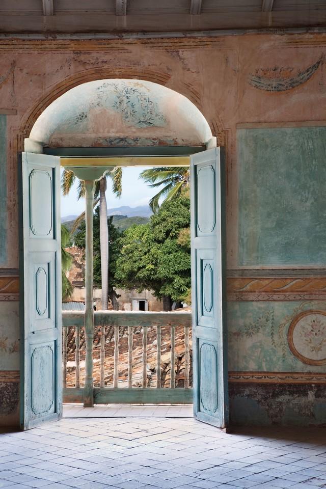Vẻ đẹp của một căn nhà nhìn hướng ra thung lũng Viñales