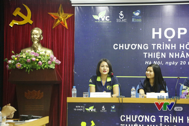 Diễn viên Hoàng Xuân cũng có mặt tại cuộc họp báo.