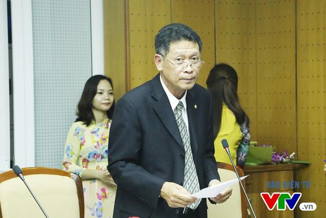 Ông Nguyễn Cường Lâm - Phó Tổng Giám đốc Tập đoàn Điện lực Việt Nam phát biểu tại buổi lễ