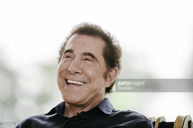 Ông trùm sòng bạc của Mỹ Steve Wynn.