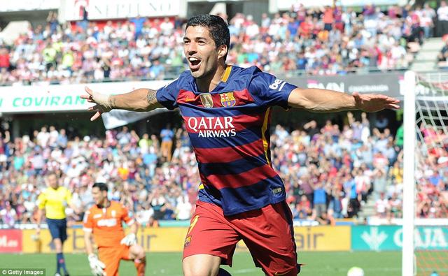 Suarez chói sáng với 40 bàn, giành danh hiệu Pichichi.