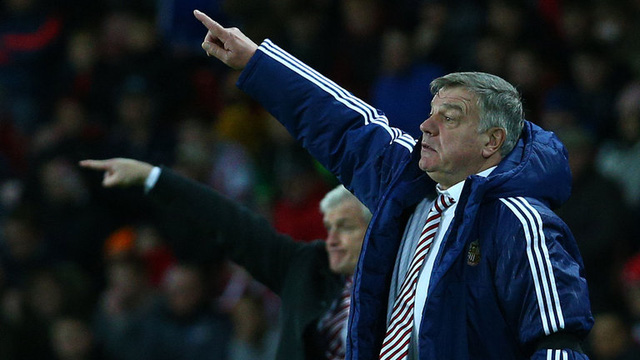 HLV Sam Allardyce được đánh giá rất cao từ các nhà báo Anh trong việc chọn lựa người thay thế cho Roy Hodgson. Ảnh: Getty