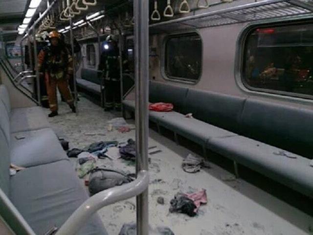 Vụ nổ xảy ra vào lúc 22h (theo giờ địa phương). Cảnh sát Đài Loan nghi ngờ vụ nổ xảy ra là do một thiết bị đặt trên tàu (Ảnh: Cục Đường sắt Đài Loan TRA)