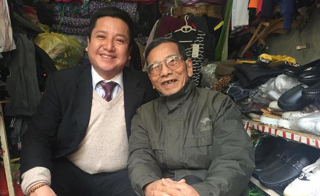 Nhiều năm nay, NSƯT Trần Hạnh mưu sinh bằng công việc bán hàng. Ảnh: PCT.