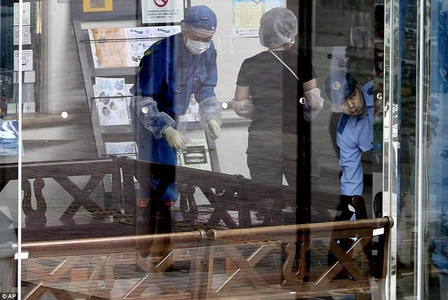 Cơ quan điều tra đang tiến hành thu thập chứng cứ sau vụ thảm sát ở Trung tâm chăm sóc người tàn tật Tsukui Yamayur.