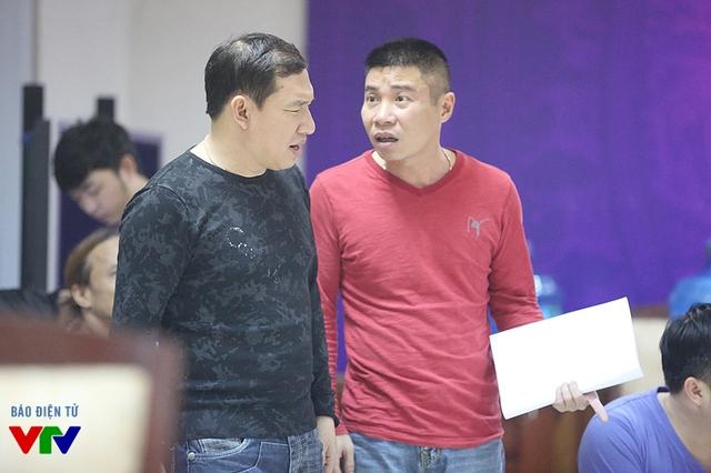 Phần tập giữa hai nghệ sĩ Quang Thắng và Công Lý.