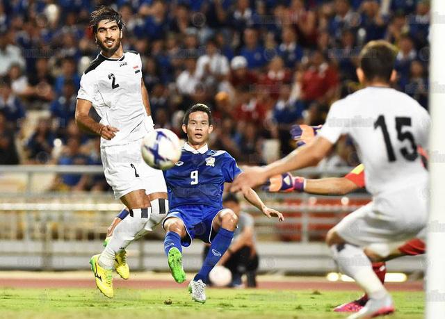 ĐT Thái Lan từng xuất sắc cầm hòa Iraq ở 2 lượt trận vòng loại thứ 2