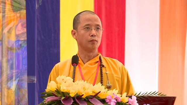 Thượng tọa Thích Minh Nghiêm - Ủy viên Hội đồng Trị sự Giáo hội Phật giáo Việt Nam