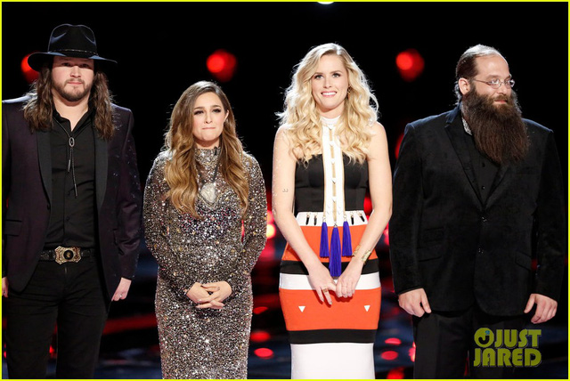 Top 4 The Voice Mỹ (Ảnh: Justjared)