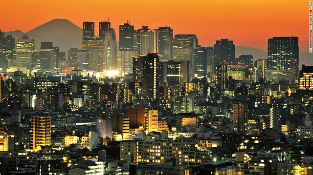 5. Tokyo (Nhật Bản)