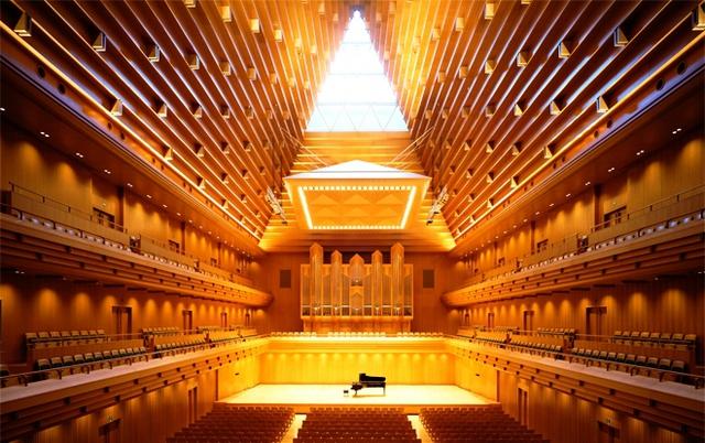 Nhà hát quốc gia Nhật Bản. Ảnh: Operacity