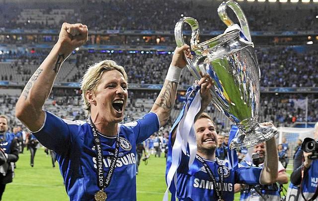 Chức vô địch Champions League thần kỷ mà Torres cùng các đồng đội ở Chelsea giành được năm 2012.