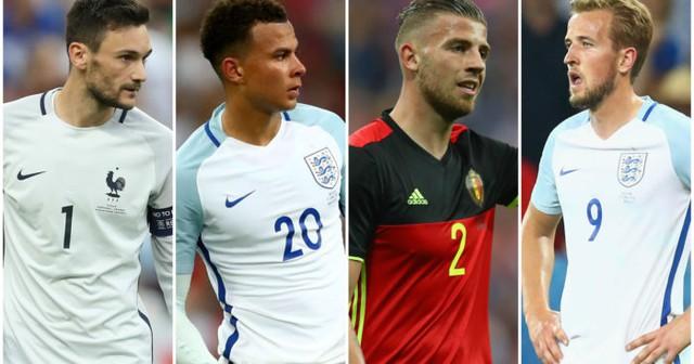 Tottenham là CLB bị bào mòn thể lực nhiều nhất tại EURO 2016 của bóng đá Anh