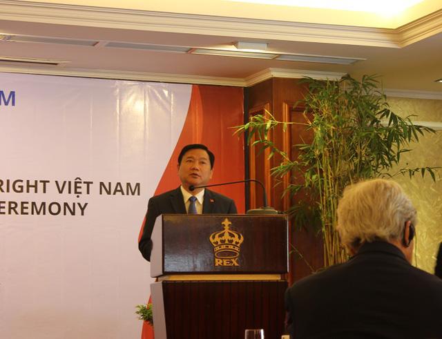 Bí thư Đinh La Thăng khẳng định TP.HCM tạo điều kiện tốt nhất cho trường ĐH Fulbright Việt Nam