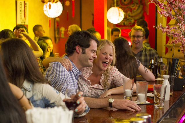 Ở đề cử cho Phim âm nhạc hay phim hài xuất sắc nhất, Trainwreck được coi là tác phẩm không thể bỏ qua. Với những tiếng cười hài hước, phim vẫn là câu chuyện tình cảm nhẹ nhàng, sâu sắc về hình ảnh của người phụ nữ sau hôn nhân đổ vỡ.