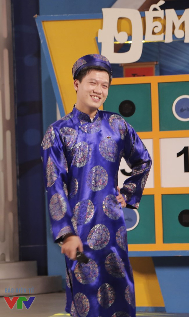 Hình ảnh hiếm thấy của MC Trần Ngọc khi Hãy chọn giá đúng lên sóng