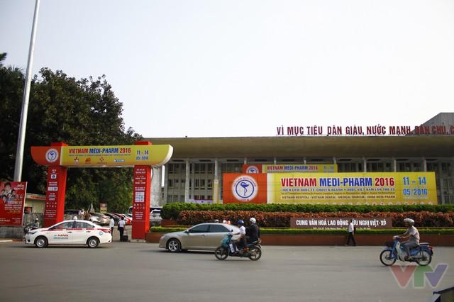 Triển lãm quốc tế chuyên ngành Y dược lần thứ 23 sẽ diễn ra đến hết ngày 14/5 tại Cung hữu nghị Việt - Xô, Hà Nội.