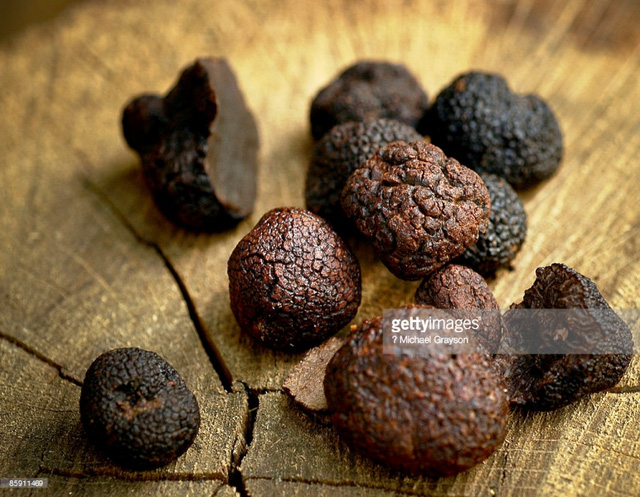 Nấm cục truffle tự nhiên quý hiếm.