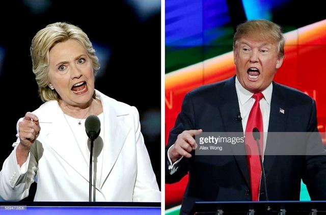Ông Doanald Trump không ngừng tìm lý do hạ uy tín đối thủ ứng viên Hillary Clinton.