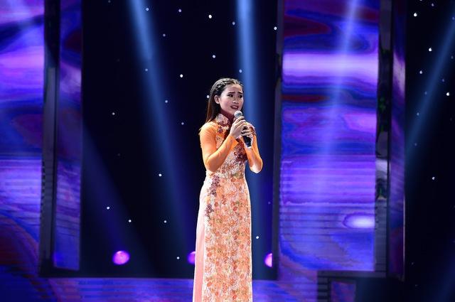 Trương Phan Yên Nhiên là thí sinh tiếp theo lựa chọn Đan Trường sau ca khúc Điệu ví dặm là em.