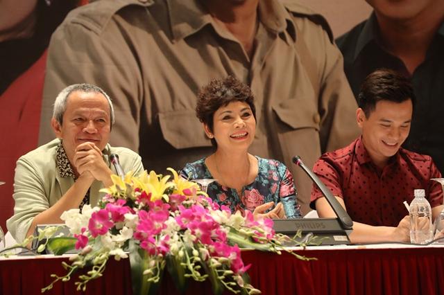 Đạo diễn Quốc Trọng và NSND Minh Châu