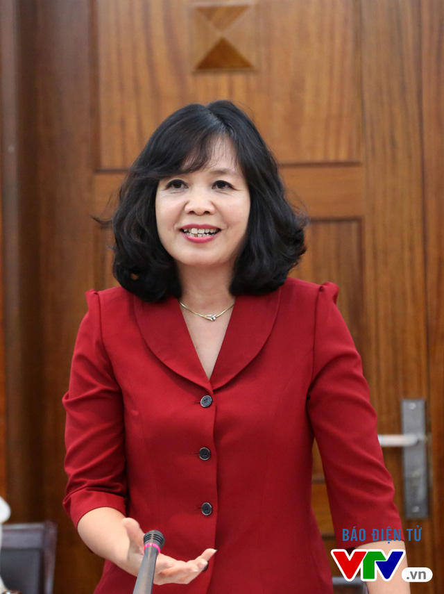 Bà Nguyễn Thị Thu Hiền – Phó Tổng Giám đốc Đài Truyền hình Việt Nam