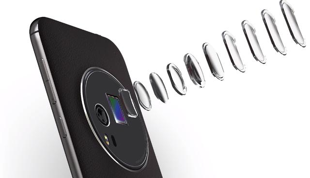 ZenFone Zoom có zoom quang học 3x mỏng nhất thế giới