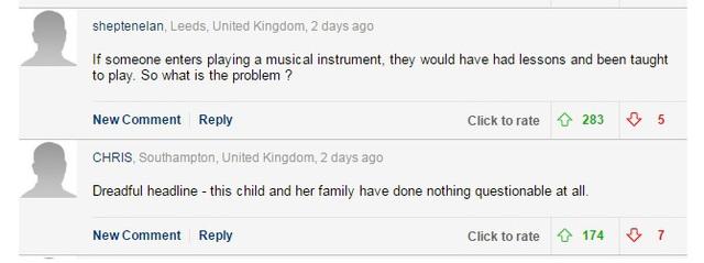 Khán giả tranh cãi về trường hợp của Beau Dermott trên một số trang báo và mạng xã hội