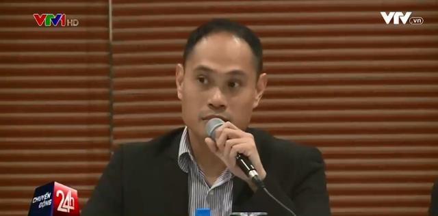 Ông Jai Gamboa - Tổng Giám đốc Công ty URC Việt Nam.