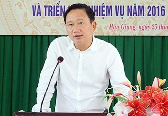 Ông Trịnh Xuân Thanh, Phó Chủ tịch Ủy ban Nhân dân tỉnh Hậu Giang (Ảnh: Báo Hậu Giang)