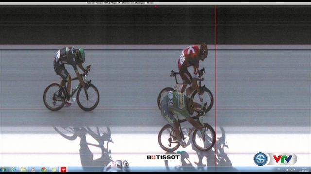 Peter Sagan vượt qua Alexander Kristoff chỉ trong gang tấc