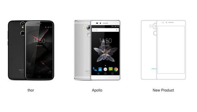 3 mẫu smartphone đầu tay của Vernee