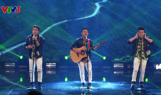 Nhóm The Heaven nhận được lượt bình chọn cao nhất từ khán giả trong đêm bán kết đầu tiên.