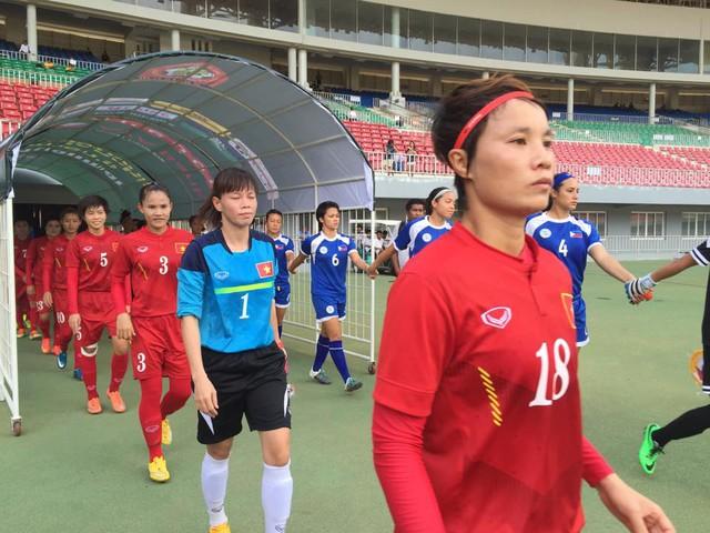 ĐT nữ Việt Nam ra quân trong trận đấu với Philippines
