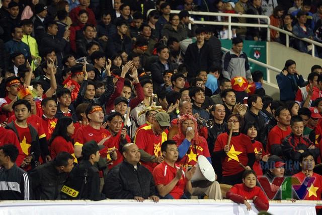 Dù vậy, các khán giả trên sân Mỹ Đình đã sớm phải lo lắng khi Wu Chun-Ching mở tỷ số cho đội khách