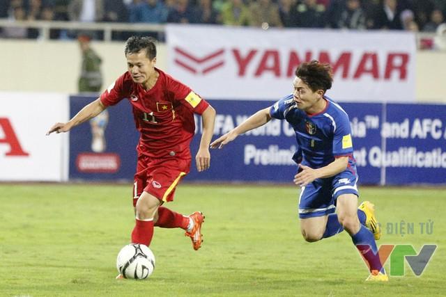 Thành Lương cũng có một trận đấu xuất sắc khi liên tục làm khổ hàng phòng ngự Đài Bắc Trung Hoa.