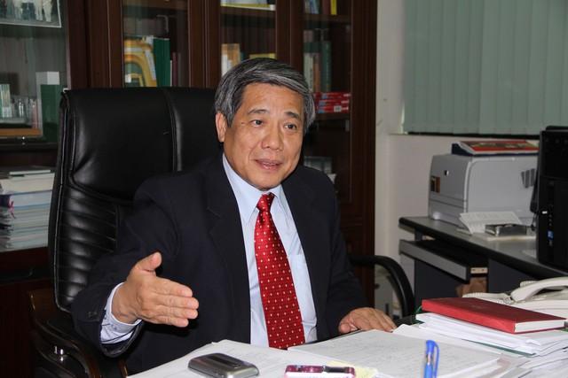 GS.TSKH Vũ Minh Giang, Ủy viên Hội đồng Lý luận Trung ương. (Ảnh: VPG)