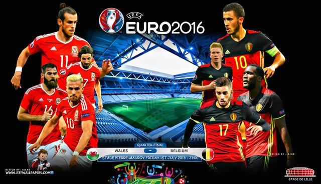 Cuộc đối đầu giữa Xứ Wales và Bỉ xứng đáng được chờ đợi khi hứa hẹn là bữa tiệc của bóng đá tấn công.