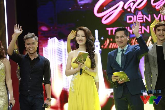 MC Thụy Vân và Quốc Khánh đảm nhận vai trò dẫn dắt chương trình