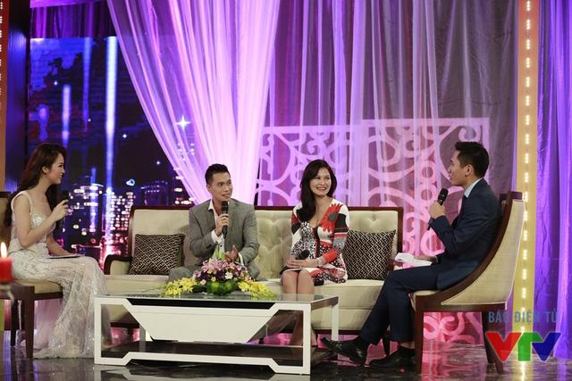 Diễn viên Việt Anh và Thúy Hà