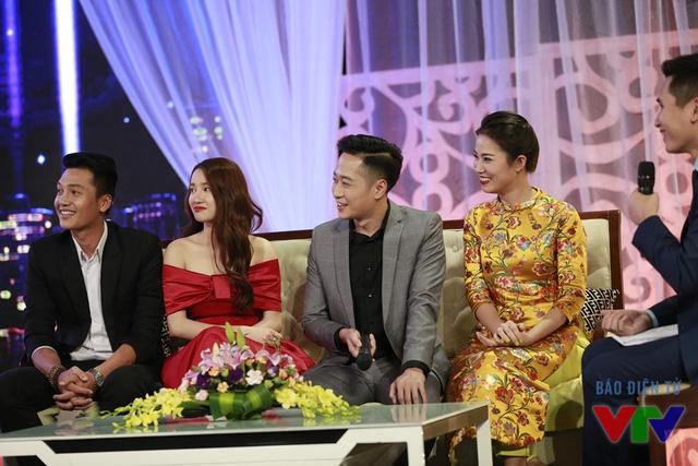 Các diễn viên Quang Tuấn - Nhã Phương - Mạnh Hưng - Quỳnh Hoa
