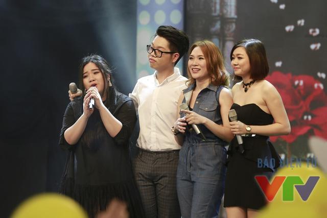 Đặc biêt, trong chương trình Mỹ Tâm đã được gặp lại ba học trò của mình ở Giọng hát Việt 2015.