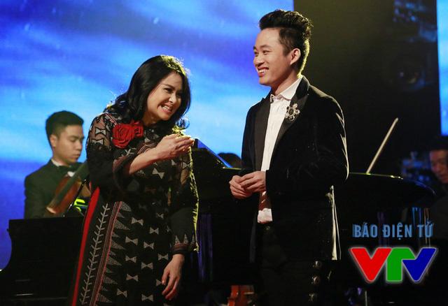 Chương trình còn có sự tái ngộ của diva Thanh Lam và ca sĩ Tùng Dương.
